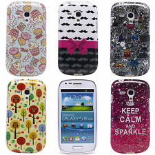 Cute Bowknot Owl Crown TPU Soft Skin Case Cover for Samsung Galaxy S3 Mini I8190