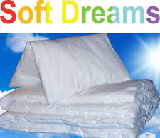 DUVET AND PILLOW For Kids Childs Children Baby Junior Bed, Crib, Cot, Cot Bed