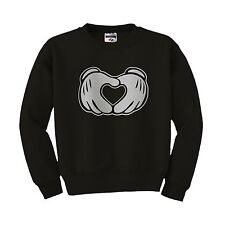 Mickey hands TGOD love dope obey ovoxo ymcmb minnie crewneck sweatshirt New S-XL