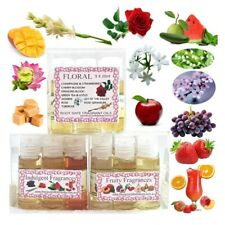 6x High Quality Soap/Candle FRAGRANCE & ESSENTIAL OILS,Fragrant,Long Lasting,Box