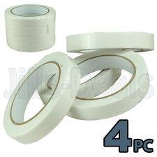 DOUBLE SIDED FOAM TAPE 2.5m 4Pc MOUNTING TAPES CARD ART CRAFTS SELF ADHESIVE