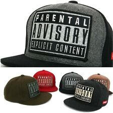 Womens Mens Hip-Hop ADVISORY Snapback Hat Casual Baseball Cap Swag Fashion Hat