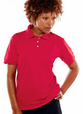 UltraClub Women's Performance Snag Resistant Polyester Knit Polo Shirt. 8315L