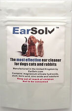 EarSolv Dog Ear Cleanser For Dogs Cats and Rabbits