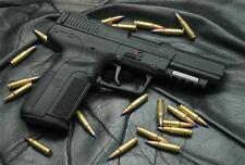 HANDGUN BLUE TIP BULLETS GLOSSY POSTER PICTURE PHOTO rifle weapon five seven 519