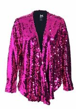 IRON FIST GLITZY HOT PINK LADIES SWEATER (B16B)