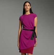 Narciso Rodriguez Colorblock Asymmetrical Peplum Dress (New W/Tags)(Ret $70.00)