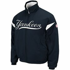 NEW YORK YANKEES MAGESTIC AUTHENTIC THERMA BASE PREMIER DUGOUT JACKET NWT