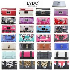 BOXED LADIES DESIGNER BUTTERFLY CUPCAKE LEOPARD DIAMANTE PURSE WALLET BAG GIFT