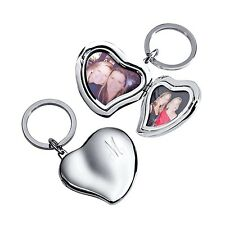Heart Locket Key Chain - Option to Personalize