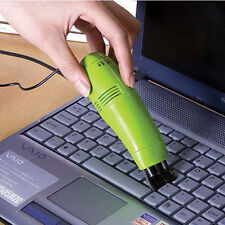 3 Color Portable Computer Vaccum Brush PC Kreyboard Dust Collector Brush Cleaner