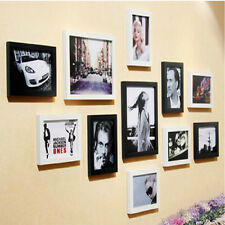 """5""""x7"""" Wood Wall Mounted Picture Photo Frame Office Home Decor High Quality"""