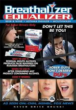 Breathalyzer Equalizer Packages -  Reduces Mouth Alcohol DUI Wine Whisky