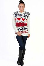 Sodamix Knit Fairisle Winter Christmas Knitwear Jumper Festive Causal Formal New