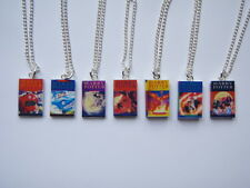 HARRY POTTER INSPIRED MINIATURE BOOK NECKLACE - CHOOSE FROM ALL 7 BOOKS