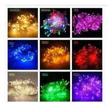 Christmas Fairy, Clear, Multi, Coloured 50/100 Lights Indoor Decorations Lights