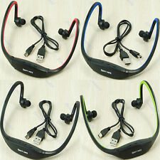 New Headphone Player Support Sports Earphone MP3  Micro SD TF Card
