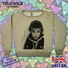 JUSTIN BIEBER , FASHION DESIGNER LADIES WIDE NECK SWEATSHIRTS,