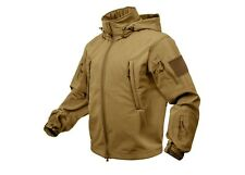 9867 Rothco Coyote Brown Special Ops Soft Shell Waterproof Tactical Jacket