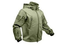 9745 Rothco Olive Drab Special Ops Soft Shell Waterproof Tactical Jacket