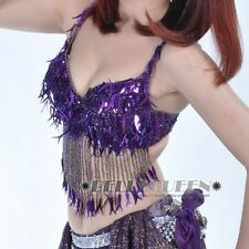 Free Shipping Wholesale Belly Dance Dancing Costume Bra Top Many Colors
