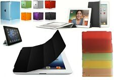 Magnetic Smart Cover Case W/Stand + Slim Back Cover for iPad 2/3/4 Multi-Colors