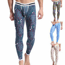 Sexy Men's Cotton Soft Long Johns Thermal Underwear Pants Bottom Trousers S~XL