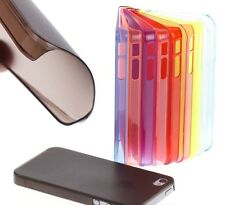 Ultra Thin Slim Matte Frosted Transparent Clear Hard Case Cover for iPhone 4/4S