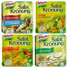 German Knorr Salat kronung(Salad dressing Powder) 5 Bags in one pack