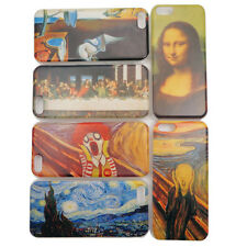 US UV Printing World Famous Painting Skin Case Cover for iPhone 5C