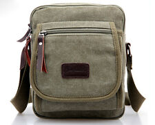 Hot sell Men's Casual Canvas Shoulder Bag Messenger Bag Totes Handbag Purse Bag