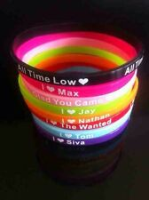 The Wanted Fan Silicone Wristbands x8+++++UK_Seller+++++