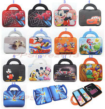 Fashion Cartoon Neoprene Sleeve Pouch Carry Handle Bag Case For 7-8 inch Tablets
