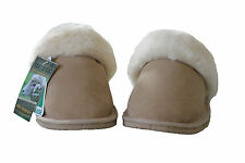 Australian Genuine Sheepskin Scuffs Beige Colour Australia Made