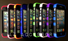 New Hybrid Rugged Rubber Matte Hard Case Cover For iPhone 5 5s