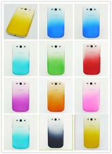 CHIC Gradient Rainbow Clear Hard Back Cover Case for Samsung I9300 Galaxy S 3