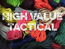 550 Paracord Mil Spec Type III 7 Strand Parachute Cord 10, 25, 50, 100 ft