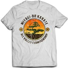 9017w BONSAI TREE T-SHIRT KARATE KID Miyagi do KUNG-FU KARATE MARZIALI
