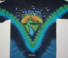 "GRATEFUL DEAD JERRY GARCIA BAND  ""MOUNTAIN CAT"" 2-SIDED TIE DYE T-SHIRT NEW"
