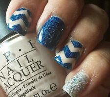 Chevron Zig Zag Nail Vinyls Fingernail Decals