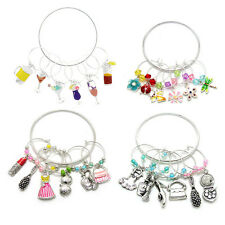 Wine Charms, Drink Marker (Set of 6)