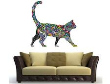 cat animal tiger Removable Art Vinyl Quote Wall Sticker Decal Mural Home color