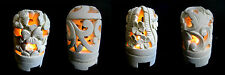 BALINESE TEA LIGHT CANDLE / INCENSE HOLDER HAND CARVED STONE 17CM 4 STYLES (S10)