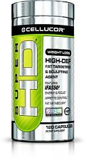 CELLUCOR SUPER HD 120 OR 60 Capsules and 2 Serving Samples FAST FREE SHIPPING