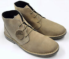 Men's Classic Sand Suede Genuine Leather Desert Boots Sizes UK 7 - UK 11