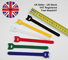 Velcro Style Hook & Loop Cable Ties Velcro Straps Velcro Cable Tidy  Re-usable