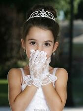 Short Lace Gloves for First Communion/Flower /Wedding.