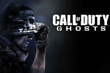 COD, Call of Duty Ghost Poster A0/A1/A2/A3/A4 your gamer tag added(optional)