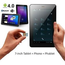 "7"" INCH PHABLET Android Tablet PC Smart Phone GSM Unlocked Bluetooth DUAL Camera"