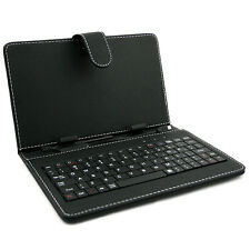 "Universal Leather Stand Case Keyboard for 7""  8"" 9"" 9.7"" 10"" Android Tablet PC"